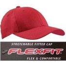 Flexfit baseball cap s m l xl rood