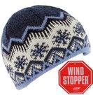 winddichte wintermuts blauw