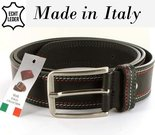 leren herenriem made in italy