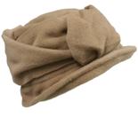 beige winterhoed dameshoed