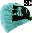 dc big star beanie muts winter blauw