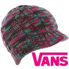 vans resort beanie gekleurd winter dames roze