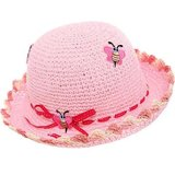 meisjes strohoedje hoed hoedje