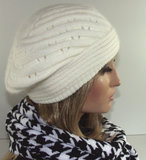 warm dames muts baret