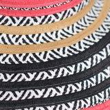 Zwoele flaphoed dames zomerhoed met brede rand IBIZA LOOK_