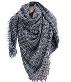 sjaal winter dames pied de poule