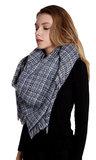 blauw blauwe sjaal winter warm
