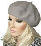 Alpino baret van 100% wol in grijs_