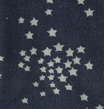 shabby omslagdoek cape poncho blauw grijs
