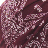 Zachte Stretch Tulband Wrap WELLNESS Haarverlies Muts PAISLEY_