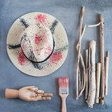 strandhoed festival ibiza hoed