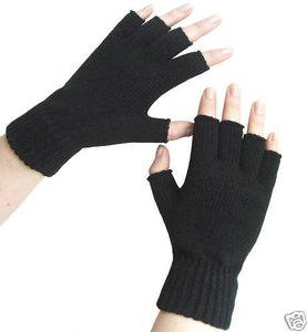 trendy vingerloze handschoenen