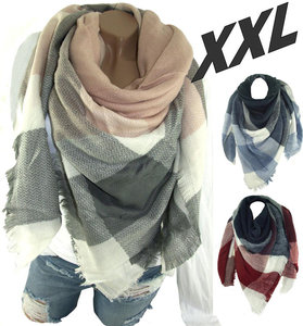 xxl shabby sjaal winter