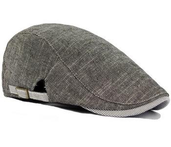 Driver zomerpet van katoen in de kleur grijs melee