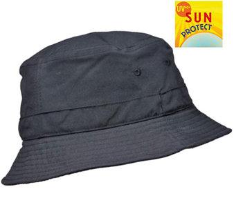 Balke vissershoed outdoorhoed UV protectie donkerblauw