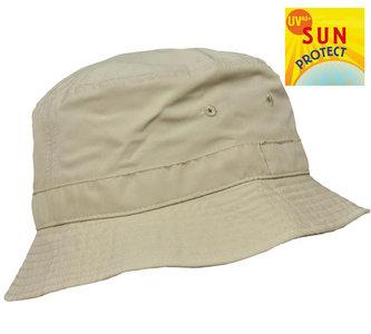 Balke vissershoed outdoorhoed UV protectie naturel