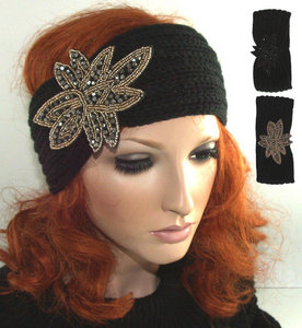 fashion trendy gebreide hoofdband