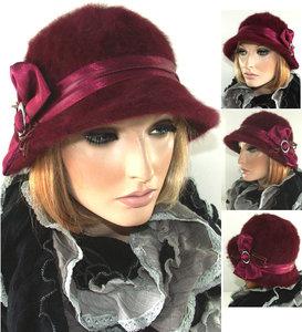 angora hoedje hoed