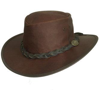 dawson scippis leren hoed
