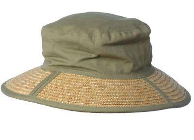 Opvouwbaar zonnehoedje van Hatland Headwear