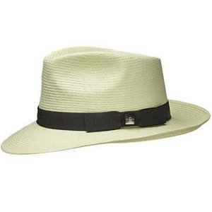 TELIDA zomerhoed in Fedora model van Stetson 100% Toyo