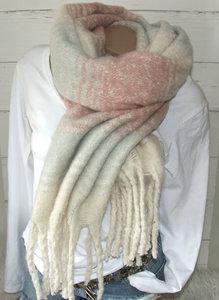 dikke sjaal oudroze