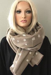 sjaal sterren damessjaal