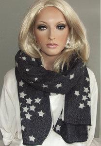 sjaal wintersjaal ster