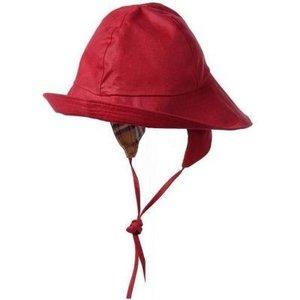 regenhoedje waterafstotend winddicht outdoorhoedje rood