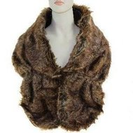 stola luxe sjaal imitatiebont