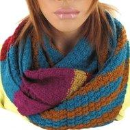 sjaal vrolijk winter dames