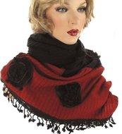 damessjaal sjwal sjaal wol
