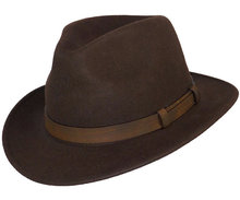 heren hoed wollen