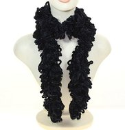 feestelijke lurex boa sjaal