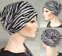 chemo tube bandana zebra