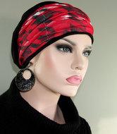 chemo chemomuts haarband rood zwart