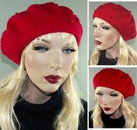 rode baret franse baret