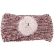 hoofdband haarband roze poederroze