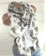 sjaal zomer zomersjaal