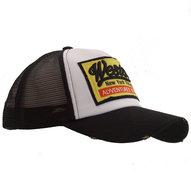 western cap baseball mesh zwart