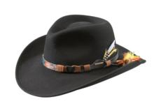 kingsley stetson zwart zwarte hoed western hoed