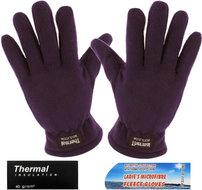 handschoenen fleece paars winter