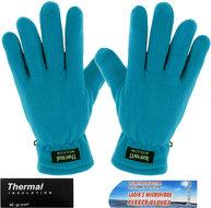 handschoenen fleece blauw